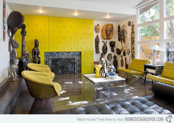 African Living Room Designs Entrancing 17 Awesome African Living Room Decor  African Living Rooms Room Review