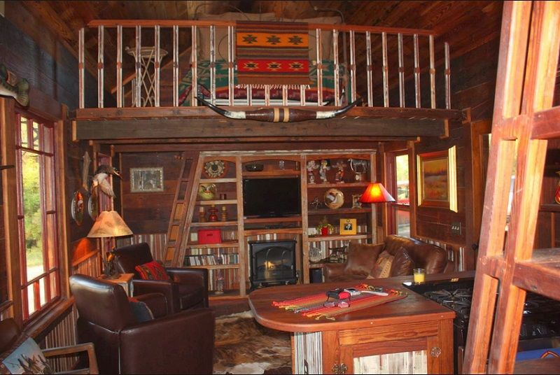 Man Cave Cabin Ideas : Western style man cave basement pinterest men and