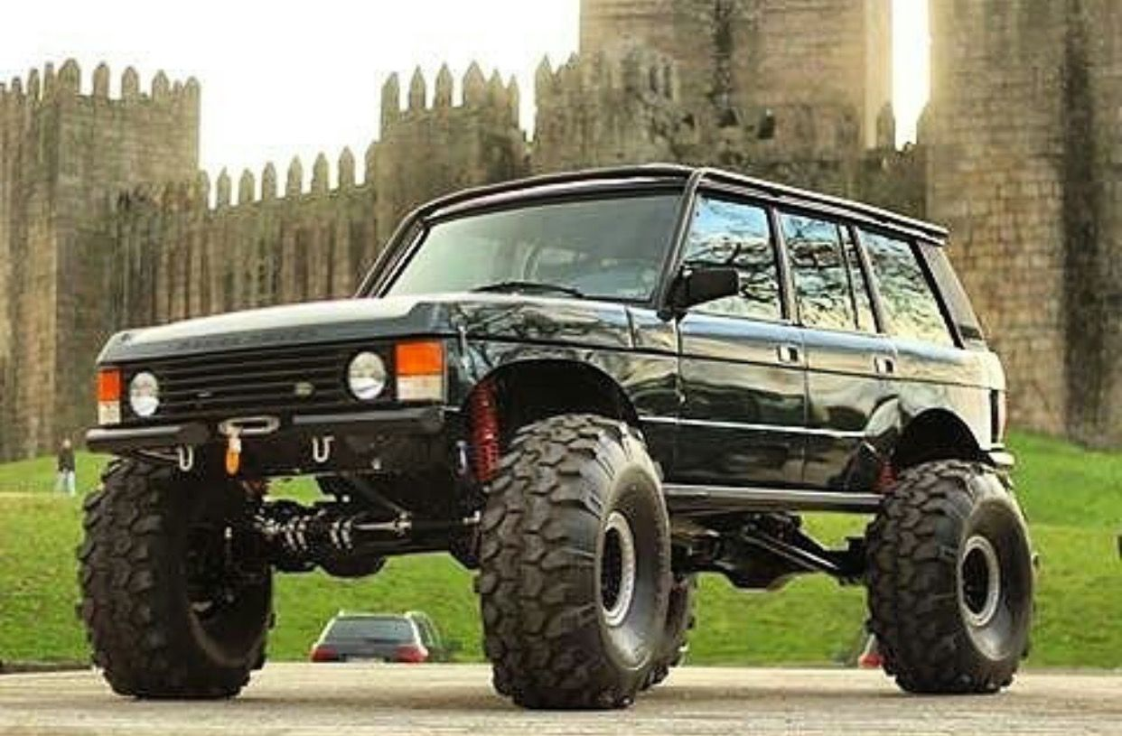 Rugged Rover Range Rover Classic Range Rover Off Road Range Rover