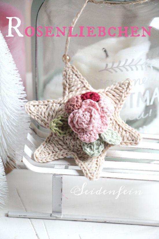 Photo of Crochet star – tutorial free silkfine.blogsp … – knitting is so easy …
