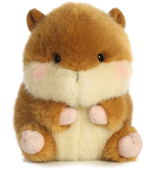 a838b794974a Romper Chipmunk Rolly Pets Stuffed Animal by Aurora World (Front View)