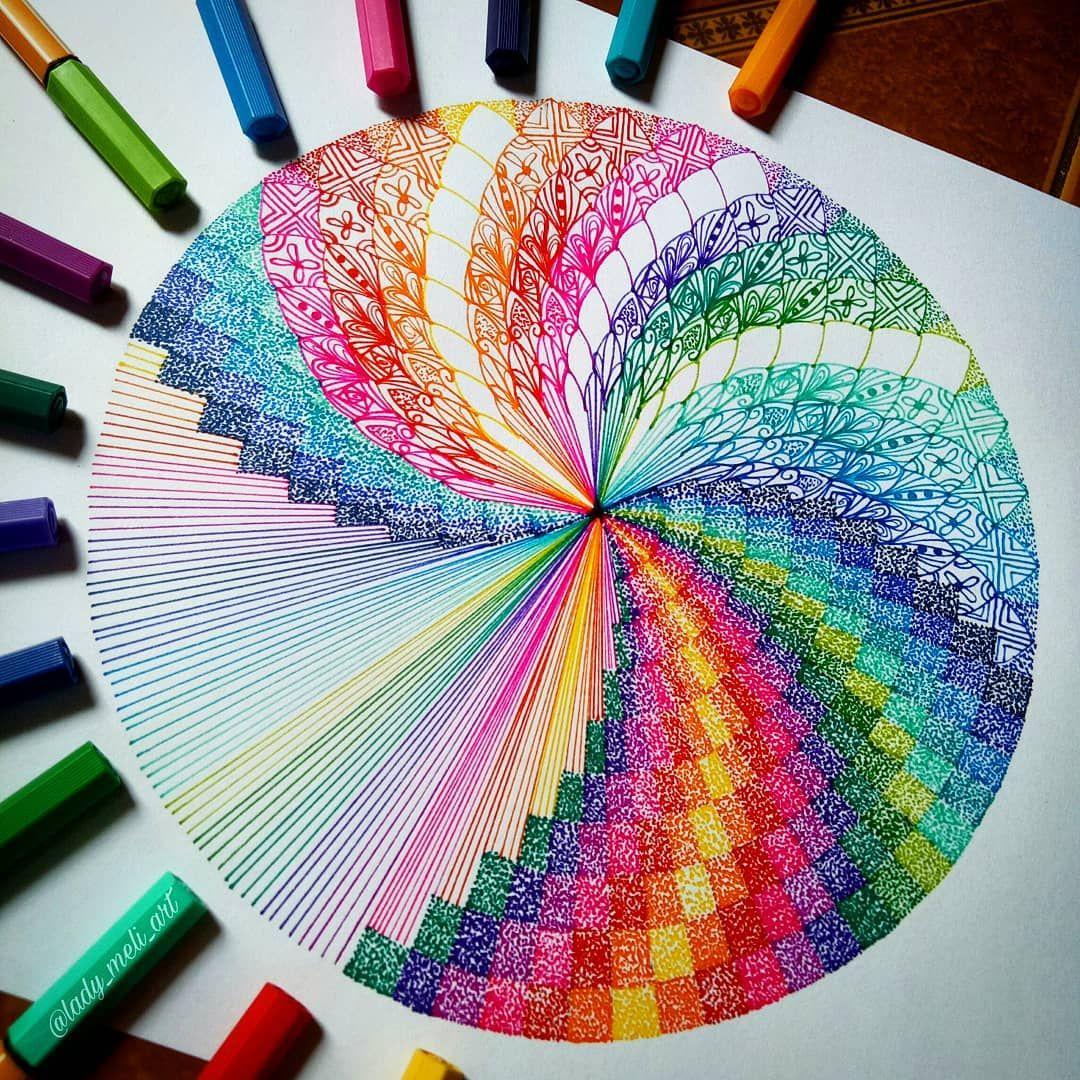 Mi Piace 4 298 Commenti 165 Mandalas Zentangles Doodles
