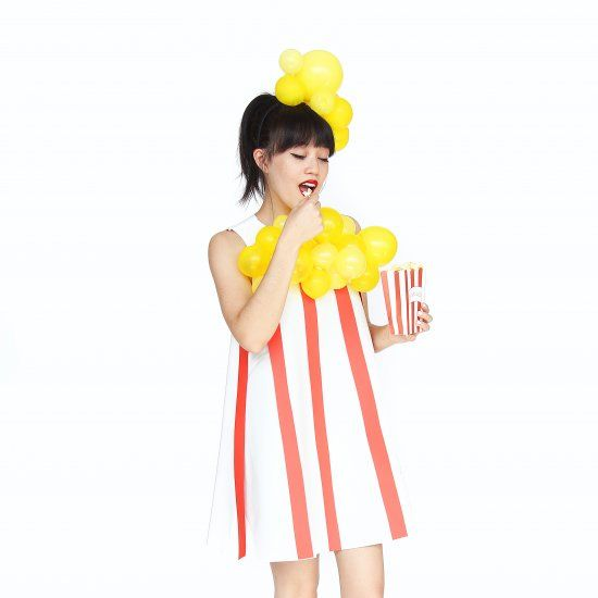 Pop it like it\u0027s hot! Find out how to make this super easy POPCORN - super easy halloween costume ideas