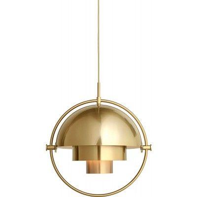 Gubi Multi-Lite Pendant lamp Pendelleuchte Messing-Messing www.constantcontradiction.com