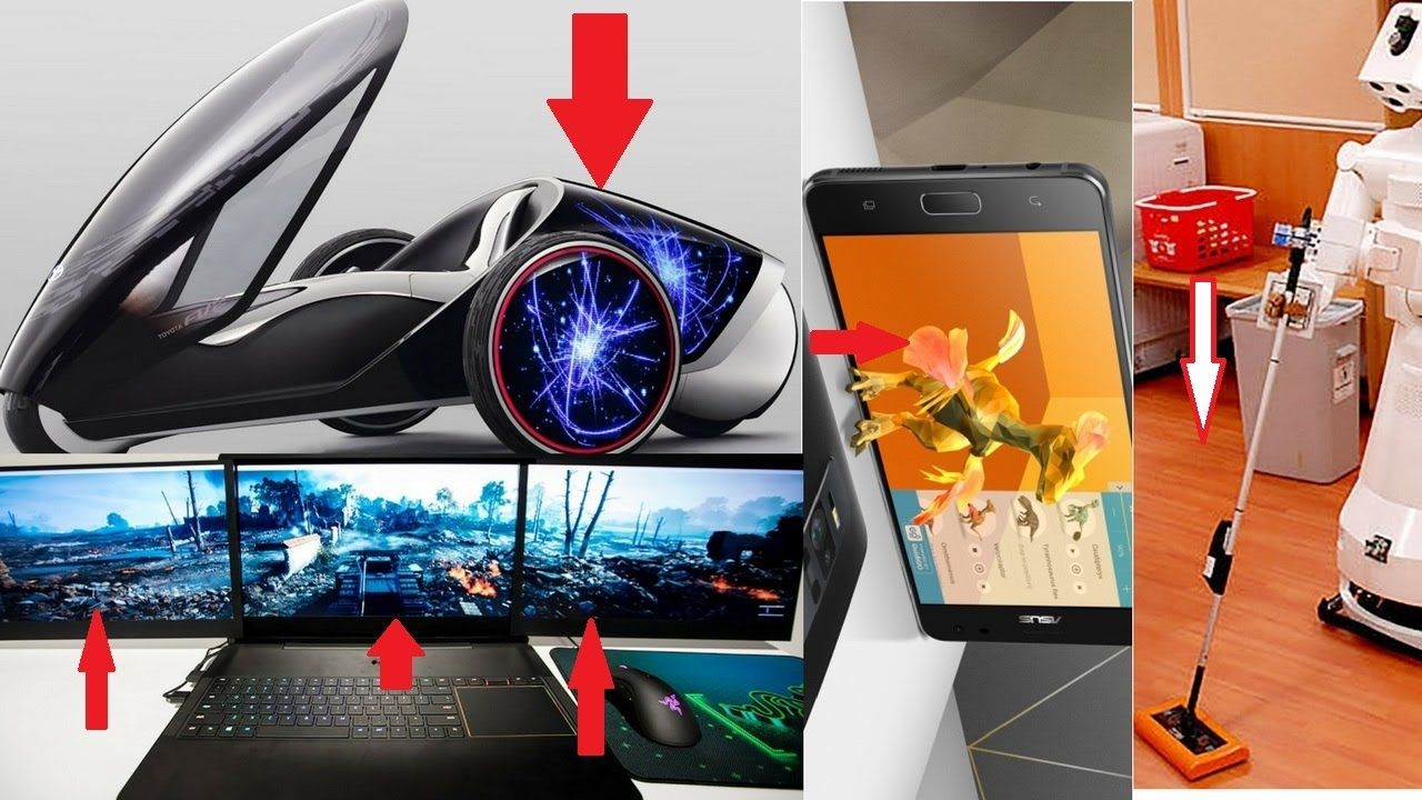 Top 5 New Technology & Gadgets That You wont't believe in