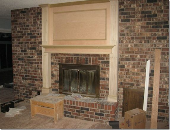 Lakeshore Cottage Living Fireplace Makeover