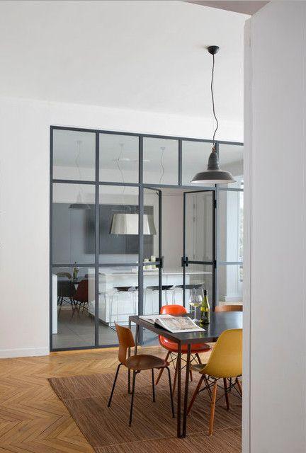 cuisine bulthaup semi ouverte portes vitr es int rieures. Black Bedroom Furniture Sets. Home Design Ideas