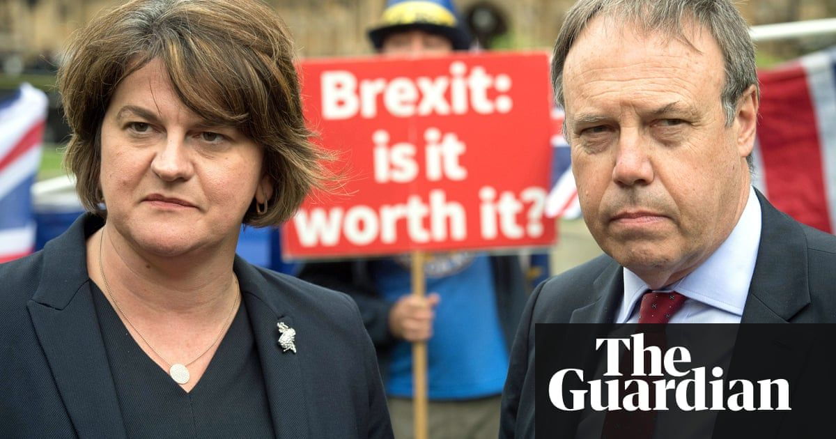 Brexit: DUP threatens to pull plug on Theresa May's government #irishsea