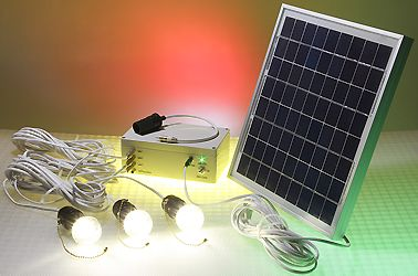 Solar Powered Led Lighting System 3 Led Bulbs 10w Solar Panel Solar Panels Best Solar Panels Solar Panel Lights