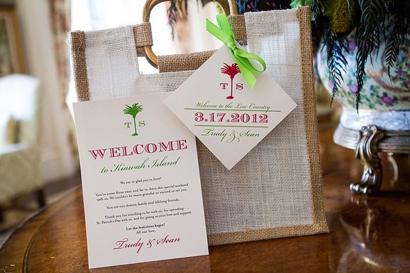 Gift Bag Ideas For Wedding Guests: Beach Wedding Gift Bag Ideas