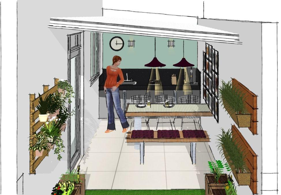 Area privativa Gourmet! - Projeto Decora