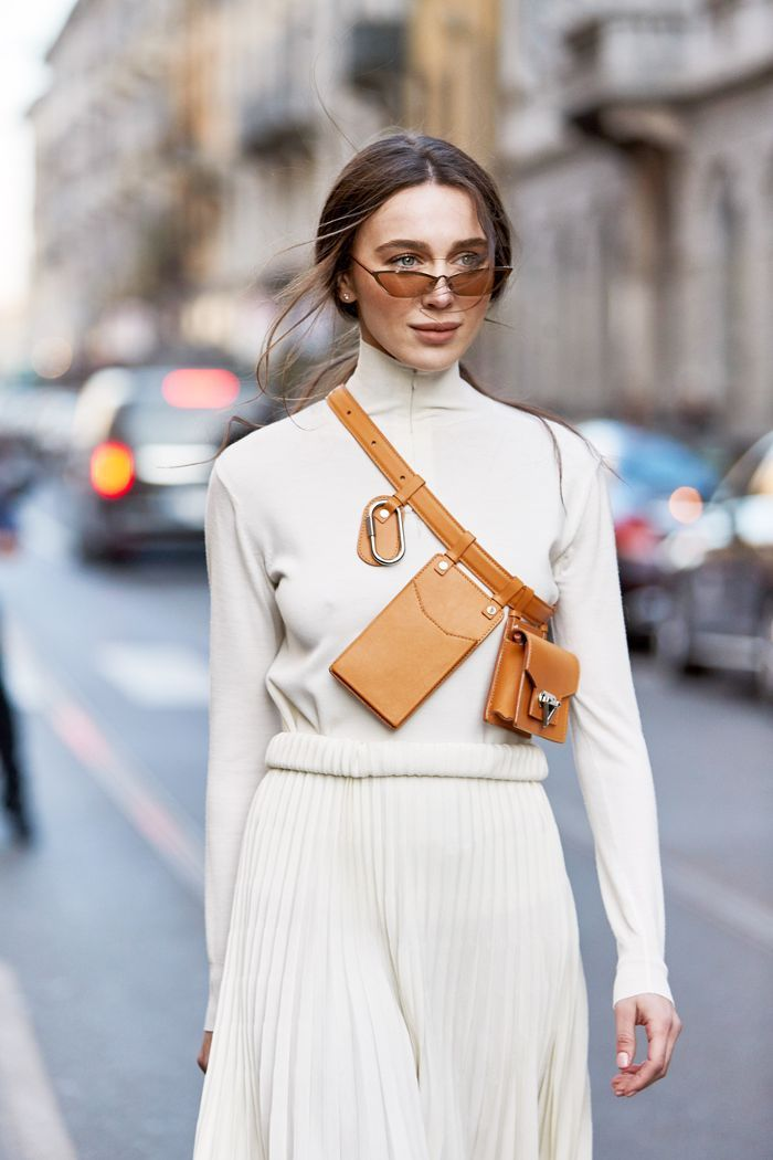 NYC Girls Are About to Be All Over This New Belt-Bag Trend