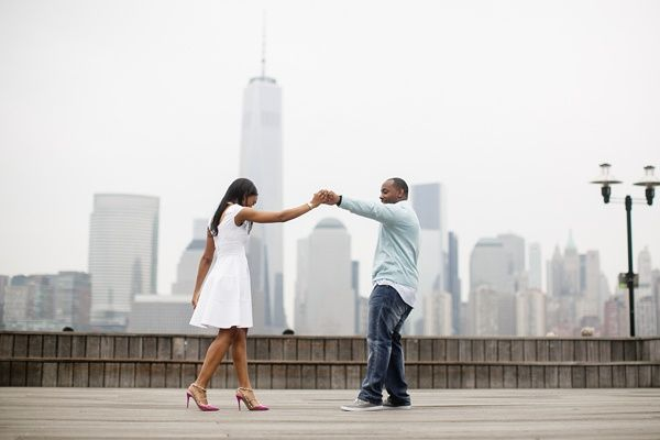 A Harbor Engagement Session In New Jersey - Munaluchi Bridal Magazine