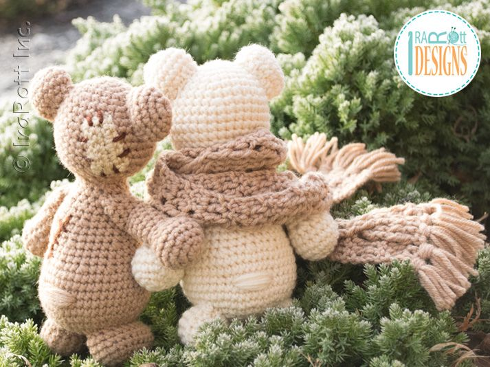 Amigurumi Crochet Patterns Teddy Bears : Classic mini teddy bear pdf crochet pattern teddy bear mini