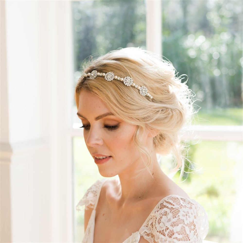 Classic Vintage Wedding Hair Accessories By Rachel Chaprunne Wedding Headpiece Headpiece Wedding Pink Wedding Headpiece