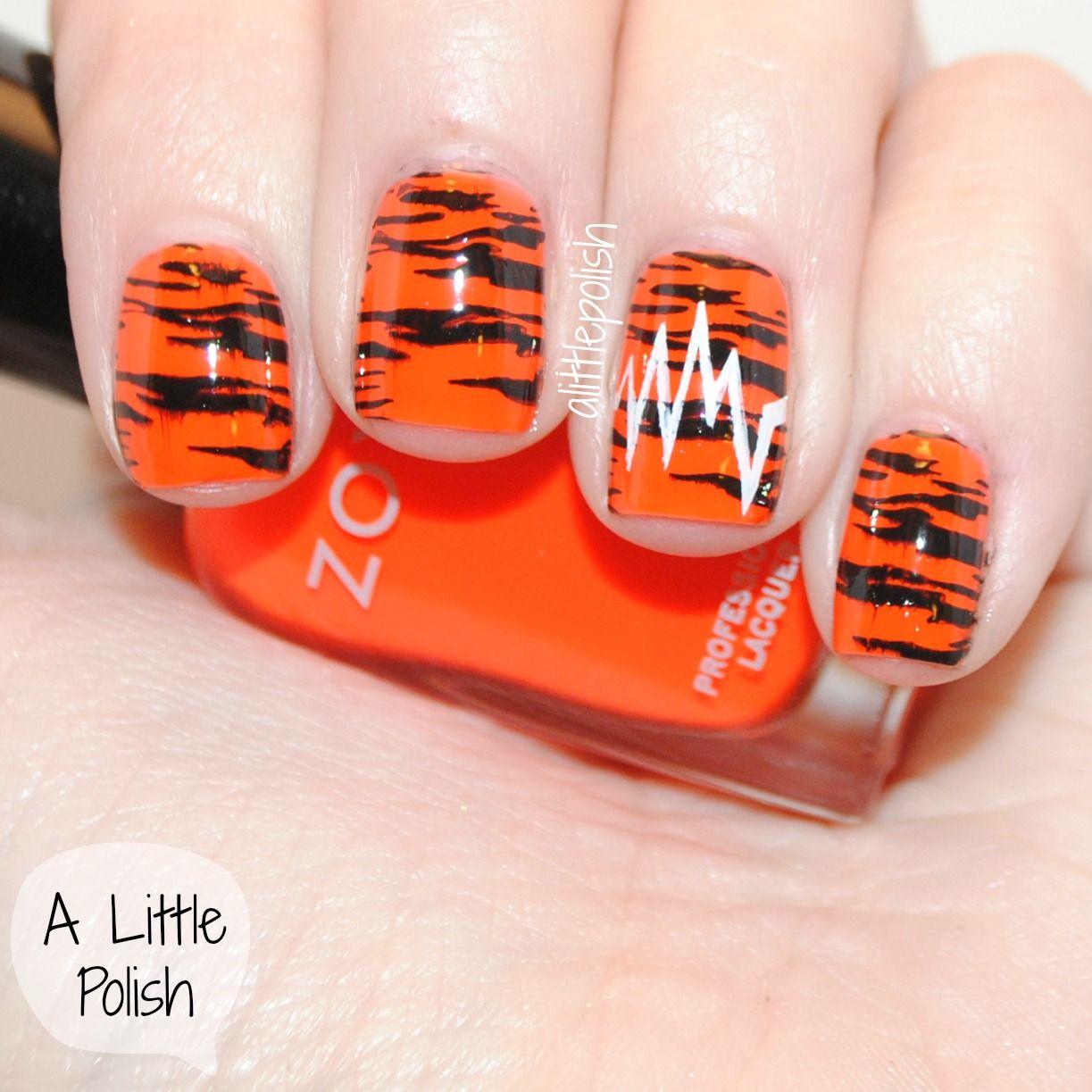 black and orange nail design - Zoya Paz | Nails! Nails! Nails ...