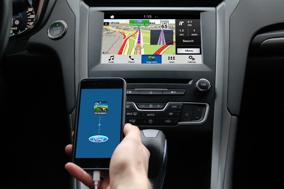 Ford Cars Are Getting A New Voice Controlled Co Driver Thanks To Sygic Ford Sync Voice Control Car Ford