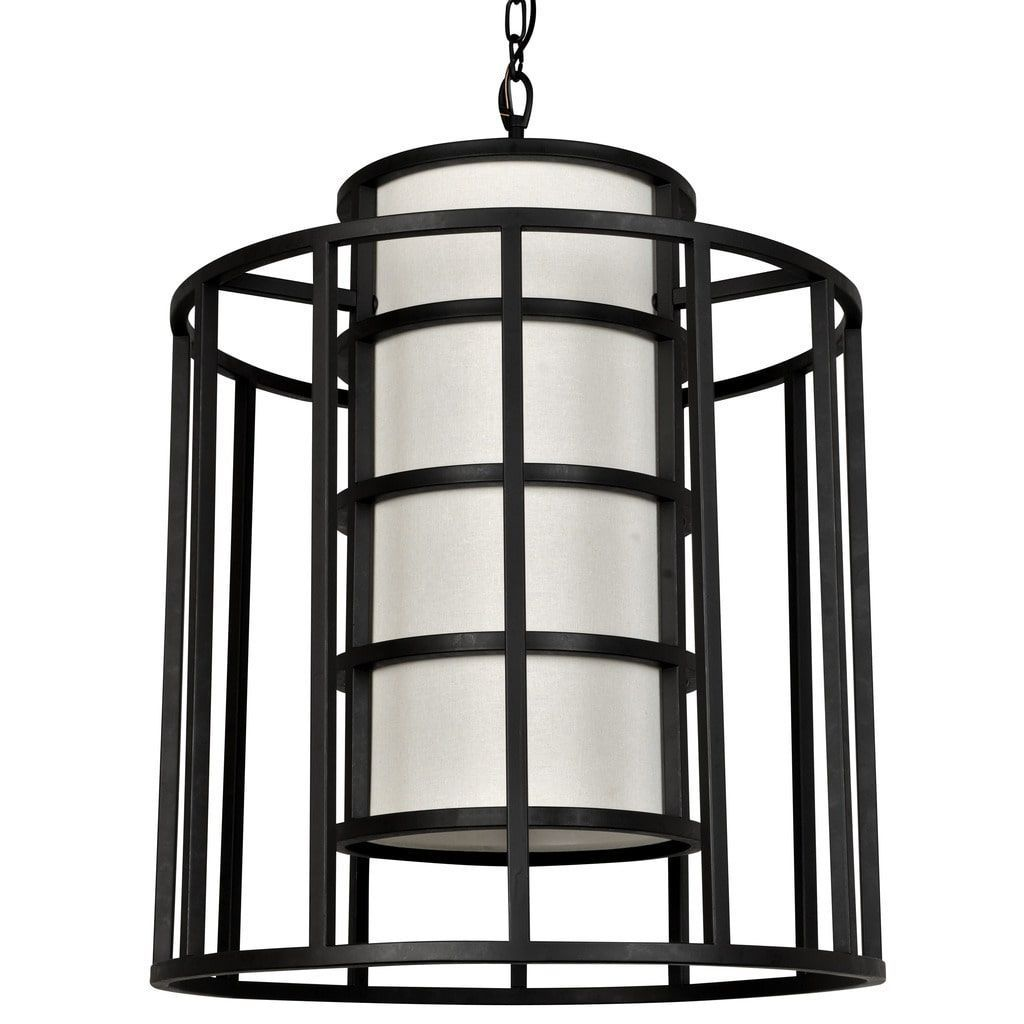 Crystorama Brian Patrick Flynn Hulton Collection 6-light Matte Black Chandelier (Steel)