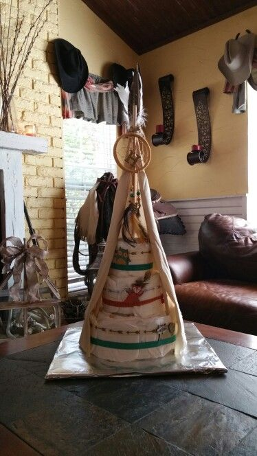 how to make a teepee for baby shower