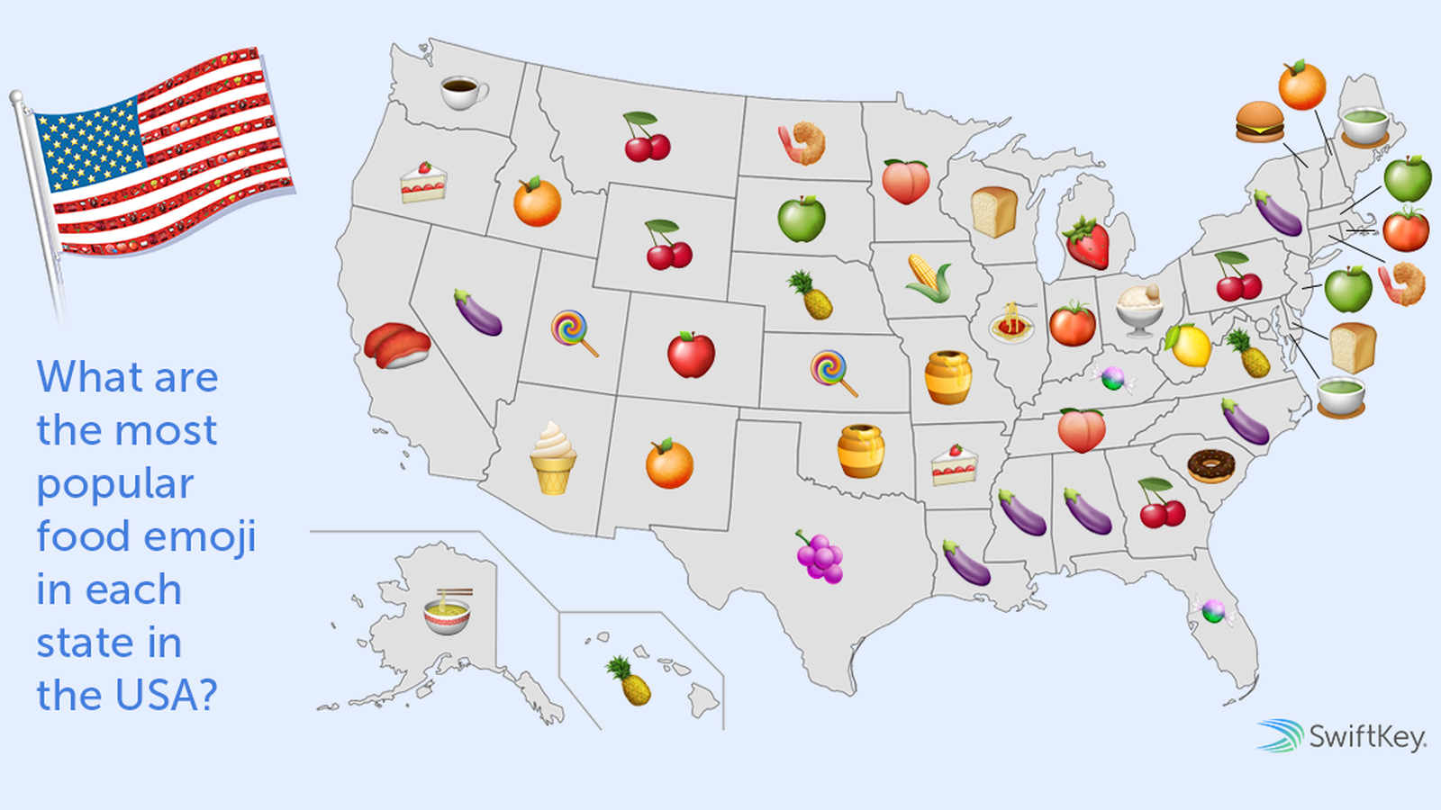Can You Spot Whats Wrong With This Food Emoji Report - Us map chef