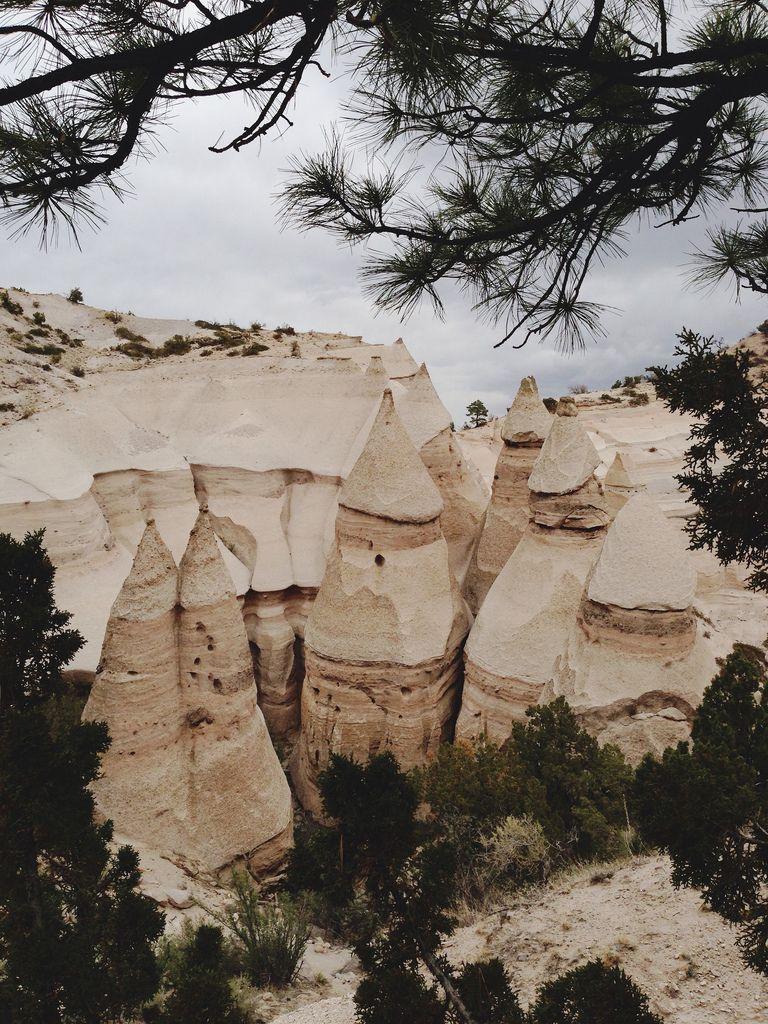Kasha-Katuwe Tent Rocks National Monument, New Mexico #TentRocksNationalMonument #NewMexico