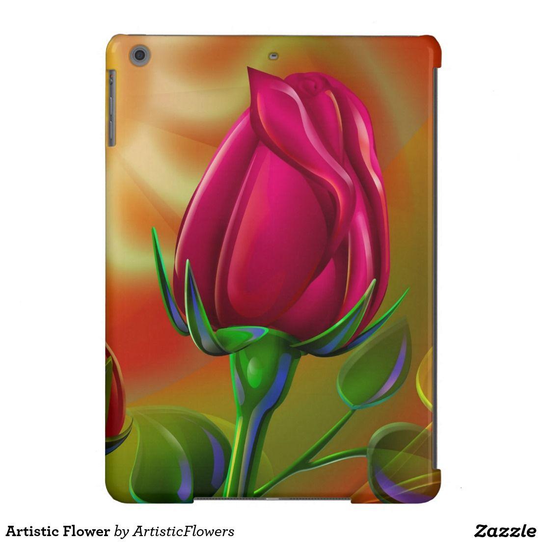 Artistic Flower iPad Air Cover