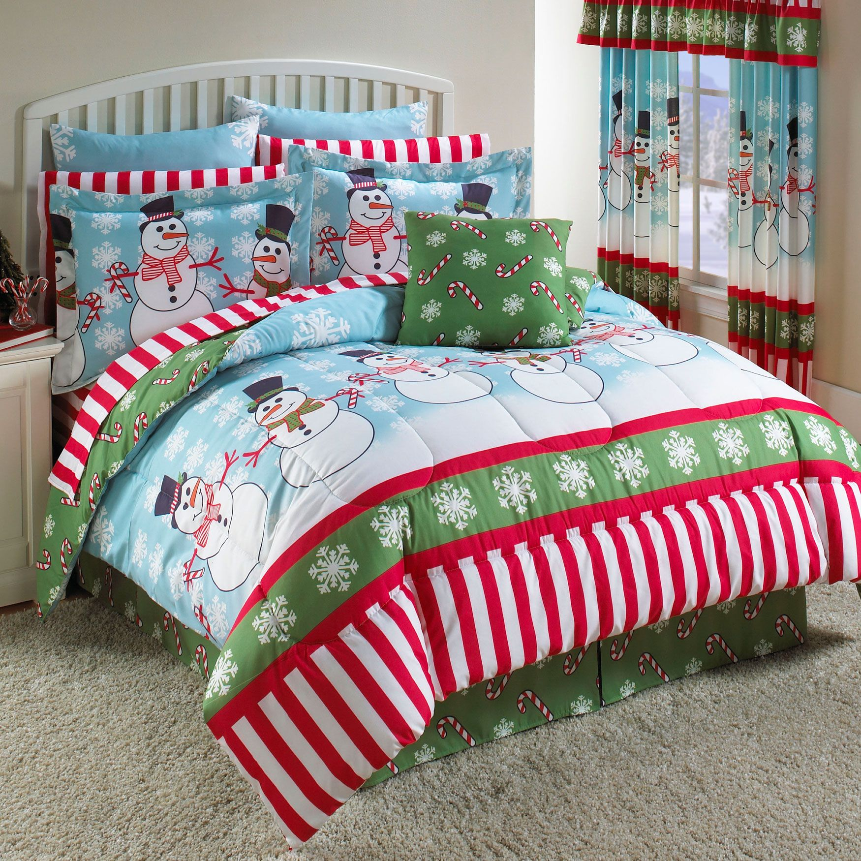 Snowman Party Total Bed Set™ & More | Christmas Bedding ...