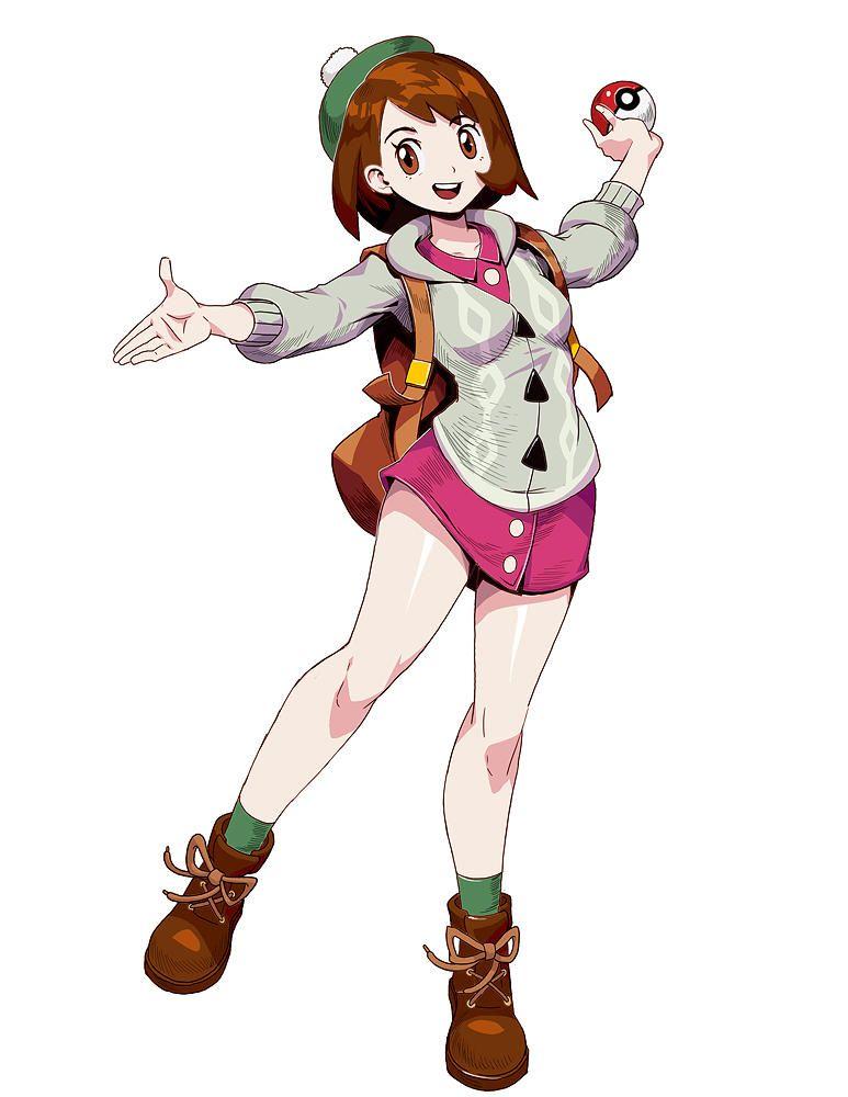 Pokemon Sword And Shield Female Trainer By Genzoman Pokemon