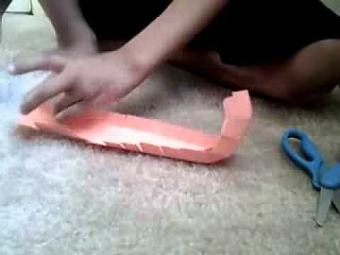 How To Make A Paper Roller Coaster Loop