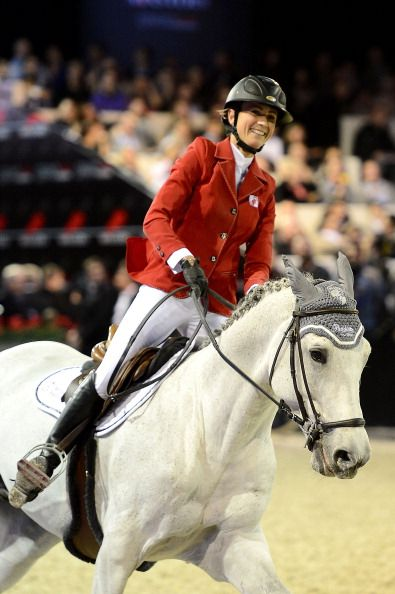 Penelope Leprevost Attends The Gucci Paris Masters 2012 At Paris