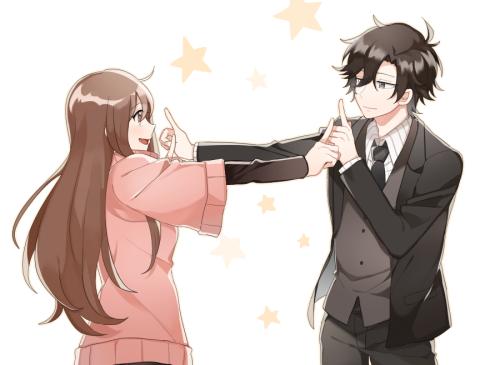 Anime Couple And Mc Image