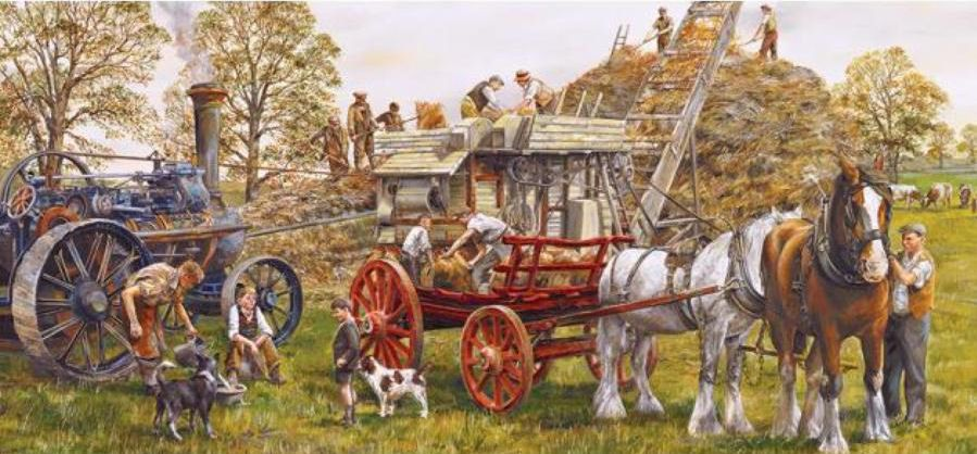 Gibsons Making Hay 636 Piece Jigsaw Puzzle G4013   Hobbies