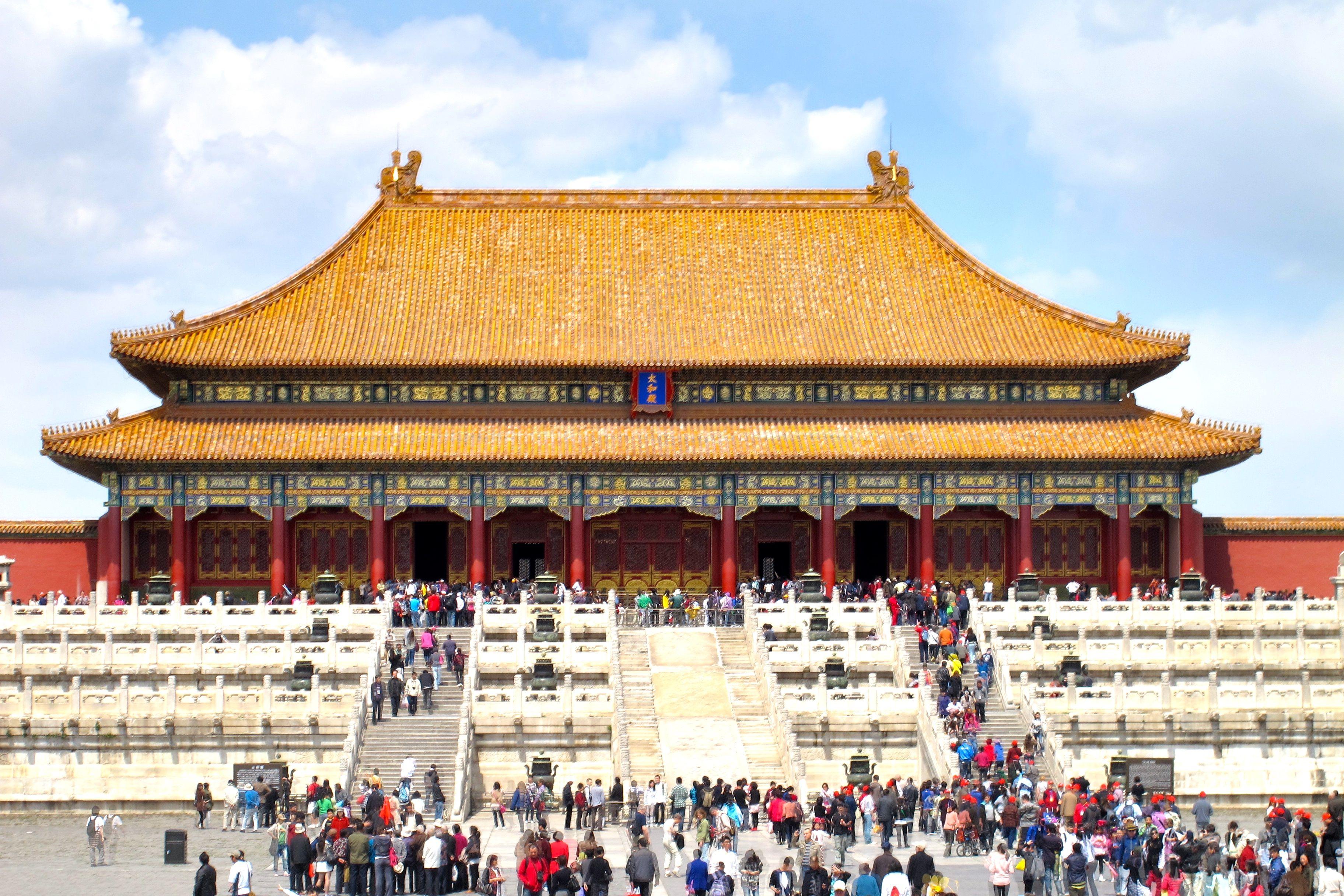 Forbidden City - Imperial Palace Beijing, China - e-architect  |Imperial Palace Forbidden City Beijing China