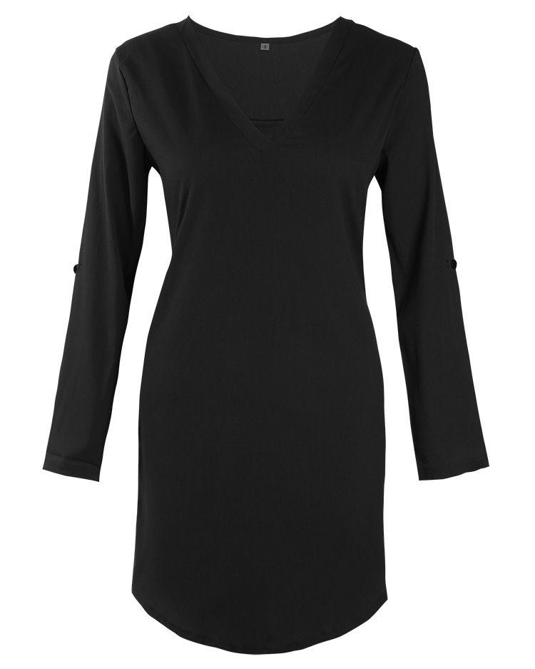 b3bc07a79a596  14.19 - Cool VISNXGI Summer New Dresses 2018 Fashion Women Casual Loose  Plus Size Elegant Dress