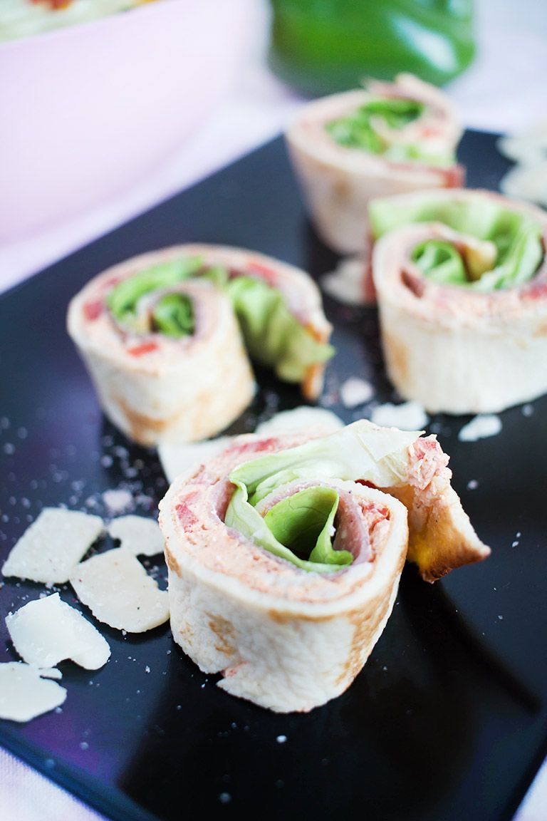 Low Carb Italian Pinwheele Crêpe – Low Carb Köstlichkeiten