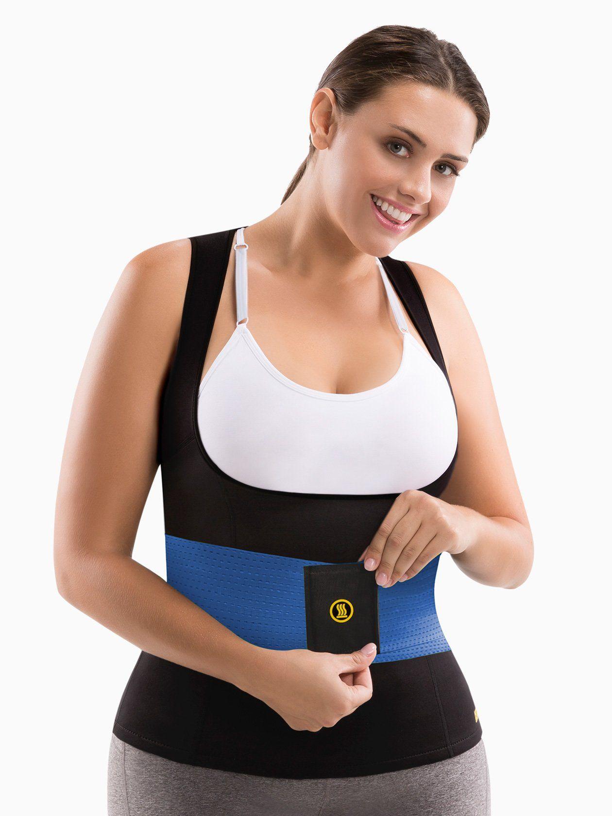 Cami hot blue waist trainer plus cami hot waist