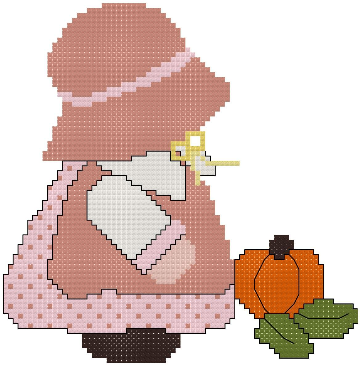 Miss November Sunbonnet Sue