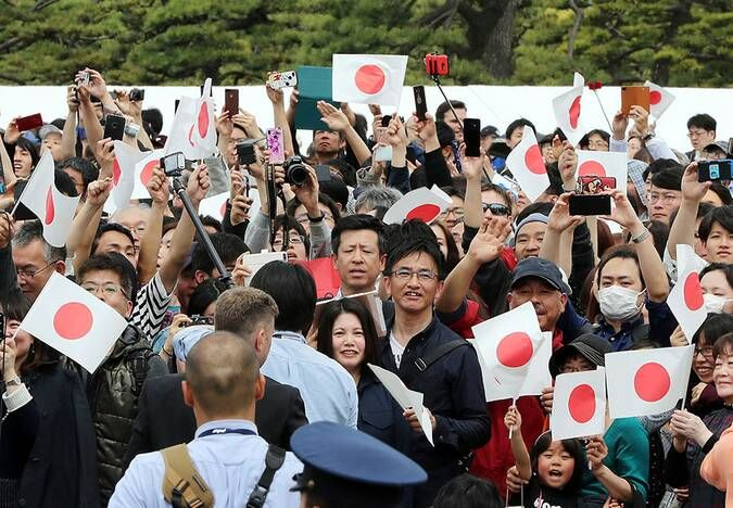 Japan S New Emperor Naruhito Makes History At Accession Ceremony Best Photos History Japan Imperial Palace