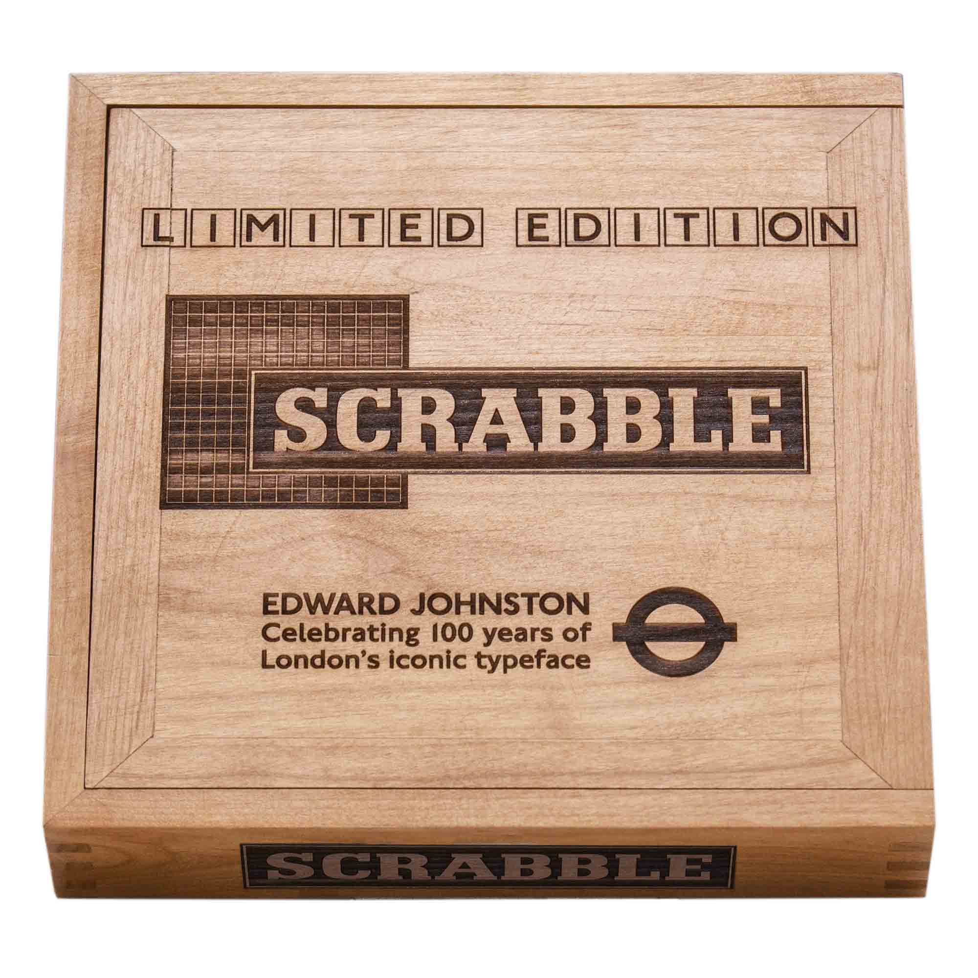 Exclusive to London Transport Museum. A classic board game fused together with the iconic font used on the London Underground for over 100 years.
