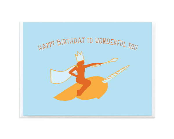 narwhal queen birthday card  birthday cards cards your