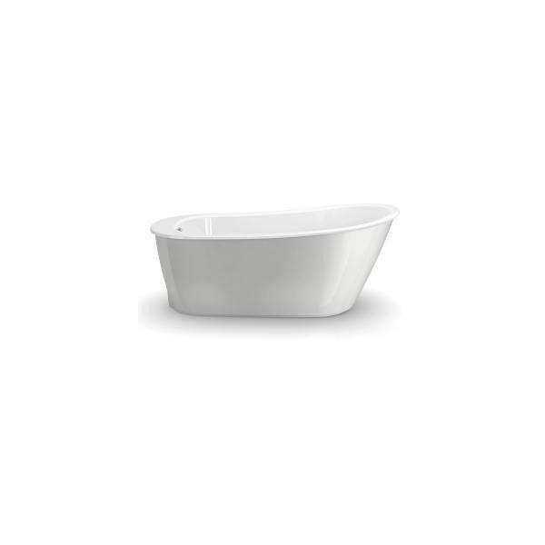 Maax Sax Bathtub In Grey Free Standing Bath Tub Maax Soaker