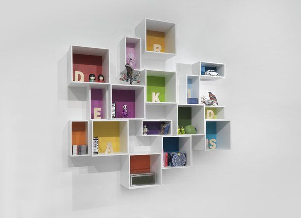 Dear Kids Childrenu0027s Bedroom Furniture For Kids Beds, Bunk Beds. Could Use  Ikea Boxes Wirh Coloured Back Insert