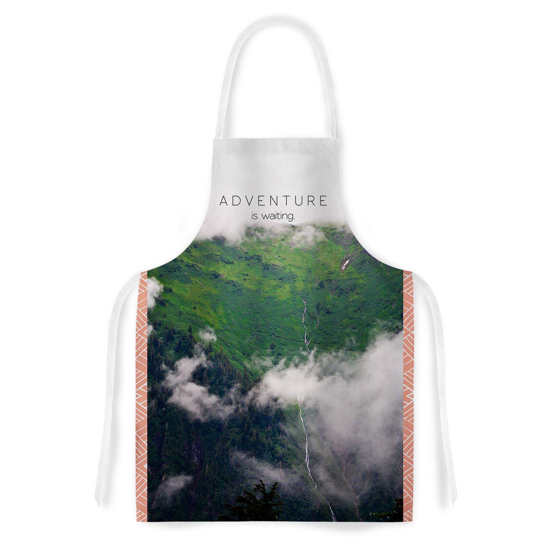 Adventure Is Waiting by Ann Barnes Artistic Apron