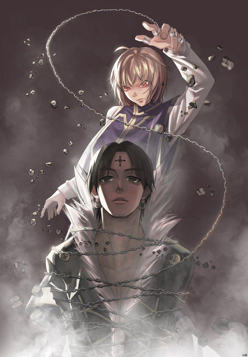 Kurapika And Chrollo Hunter Anime Hunter X Hunter Anime