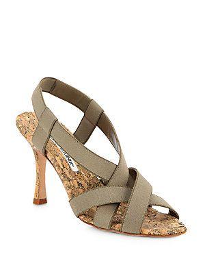 f4d6ec44be7d0 Manolo Blahnik Lasti Elastic Sandals | DESERT WEDDING | Manolo ...