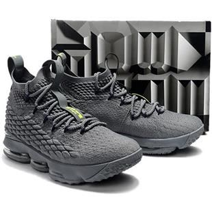 """Nike LeBron 15 """"Wolf Grey"""" For Sale, cheap Nike LeBron """"This is my favorite  shoe to date,"""" says James."""