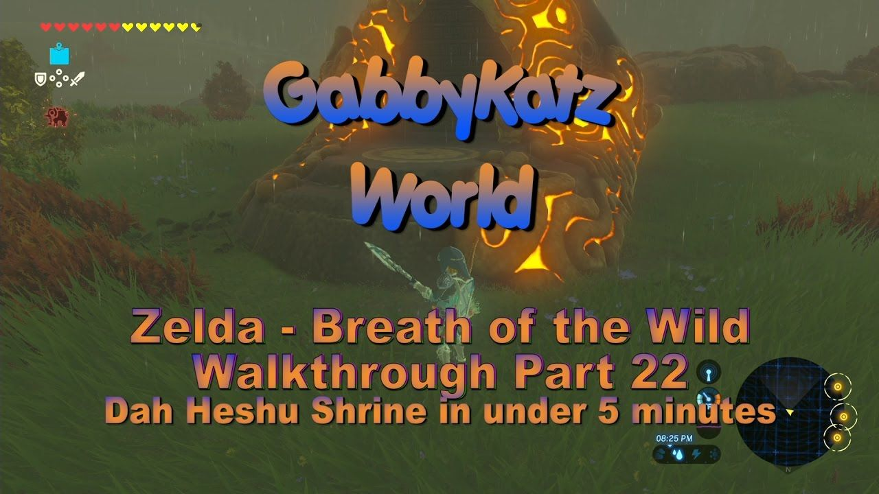 Zelda Dah Heshu Shrine In Under 5 Mins Walkthrough Part 22 1