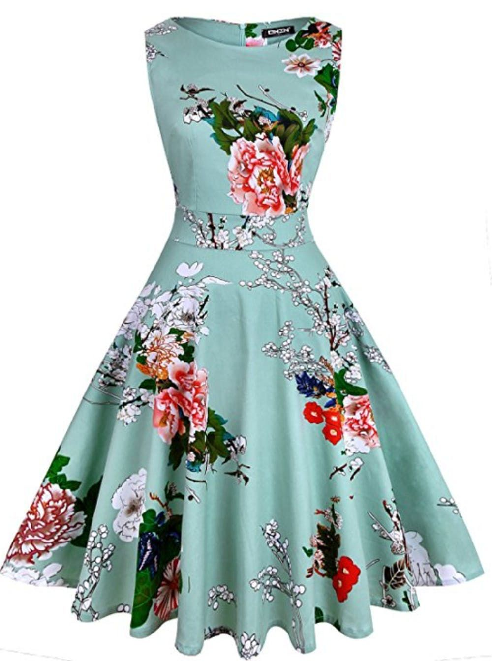 12 Affordable Spring Wedding Guest Dresses You Can Score On Amazon Brit Co Cocktail Dress Party Floral Cocktail Dress Floral Homecoming Dresses [ 1348 x 1000 Pixel ]