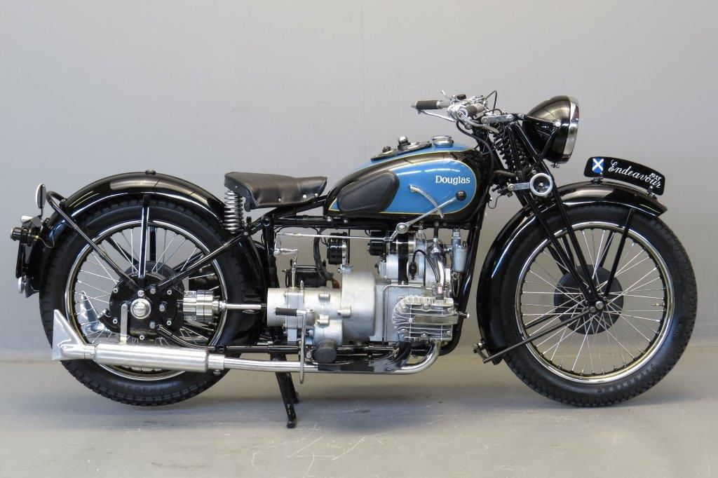 1935 Douglas Endeavour 500cc 2 Cyl Classic Bikes Vintage Bikes Vintage Motocross