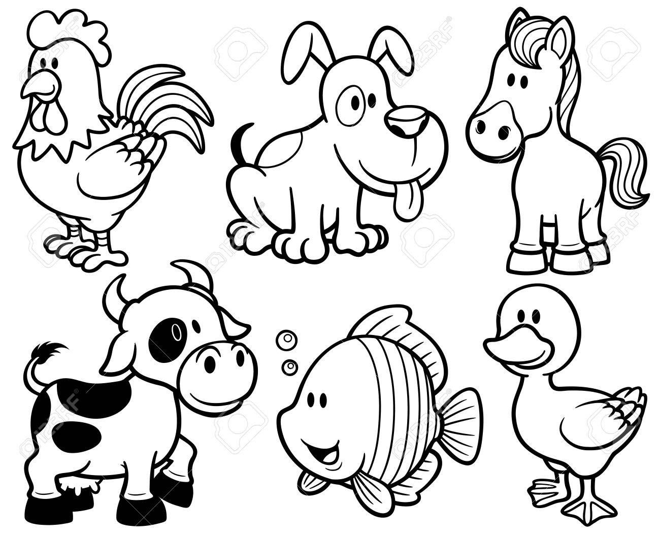 17++ Cartoon zoo animals coloring pages information